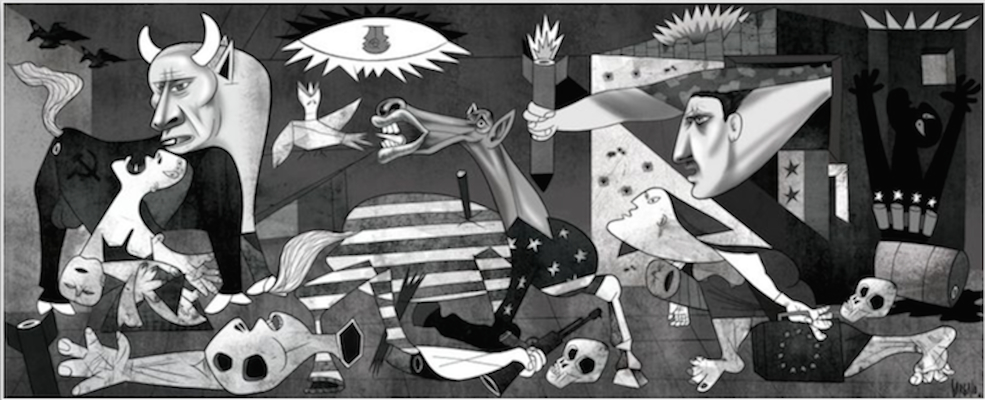 Syria Reflections Of Guernica Guernica Remakings